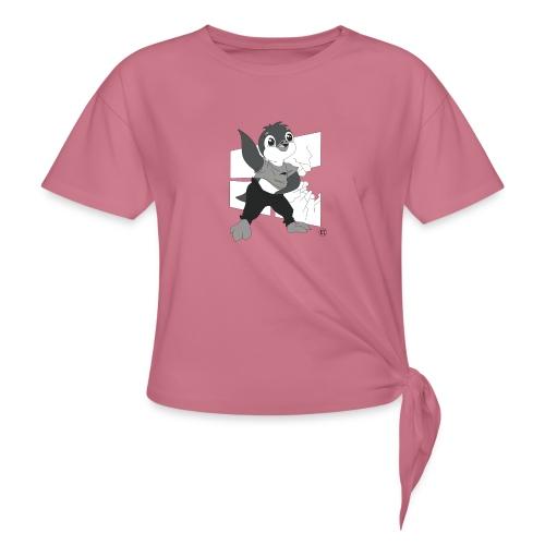 Le pingouin de Nice - T-shirt à nœud