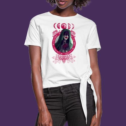 Trust in Madness - Women's Knotted T-Shirt
