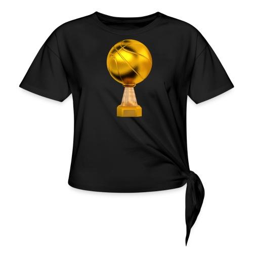 Basketball Golden Trophy - T-shirt à nœud