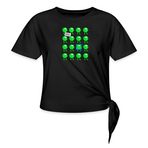 We are all green dots! - Knotenshirt