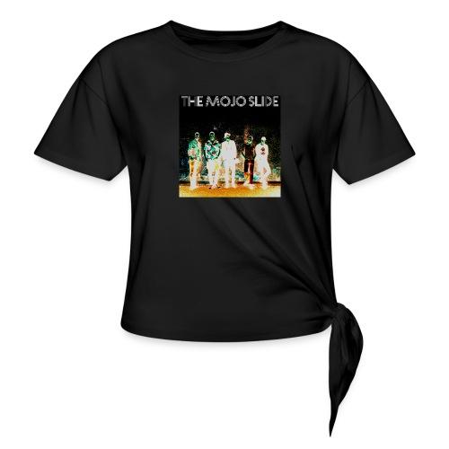 The Mojo Slide - Design 2 - Women's Knotted T-Shirt
