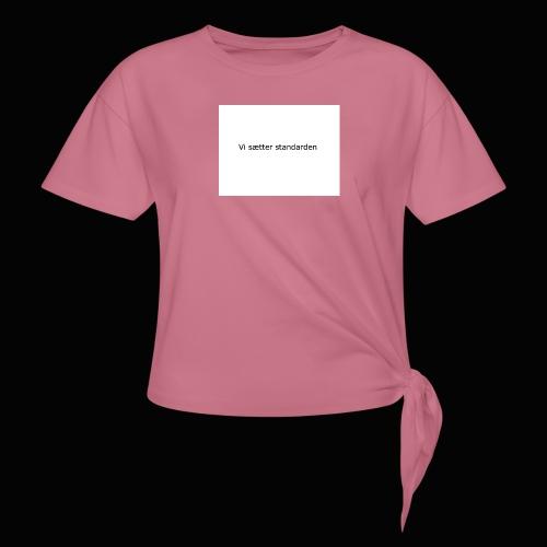 Vi Sætter Standarden - Dame knot-shirt