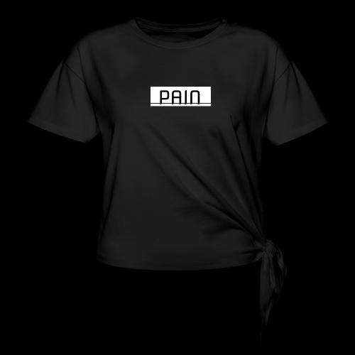 pain - Koszulka damska z wiązaniem