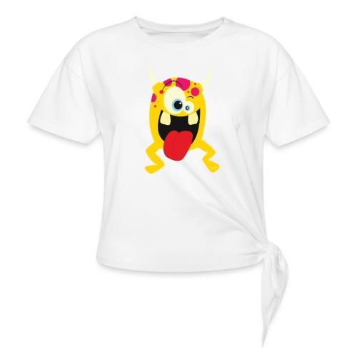 Monster Yellow - Vrouwen Geknoopt shirt