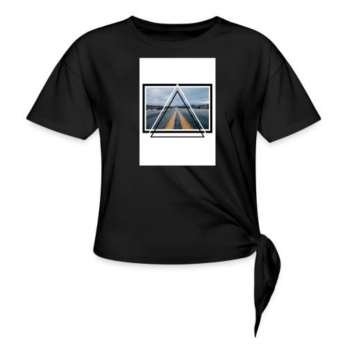 On the Road - T-shirt à nœud