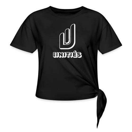 Les initiés - T-shirt à nœud Femme