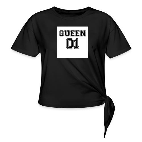 Queen 01 - T-shirt à nœud Femme