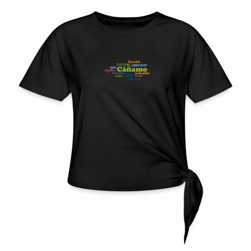 Cáñamo Sustentable - Camiseta con nudo