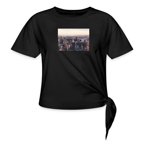 spreadshirt - T-shirt à nœud Femme