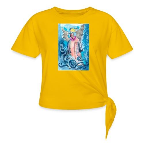 2015_jhonnyiagel-jpg - Women's Knotted T-Shirt