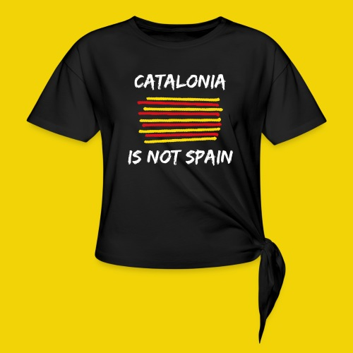 Catalonia Scratch - Knotted T-Shirt