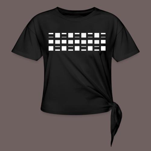 GBIGBO zjebeezjeboo - Rock - Blocs 2 - T-shirt à nœud Femme