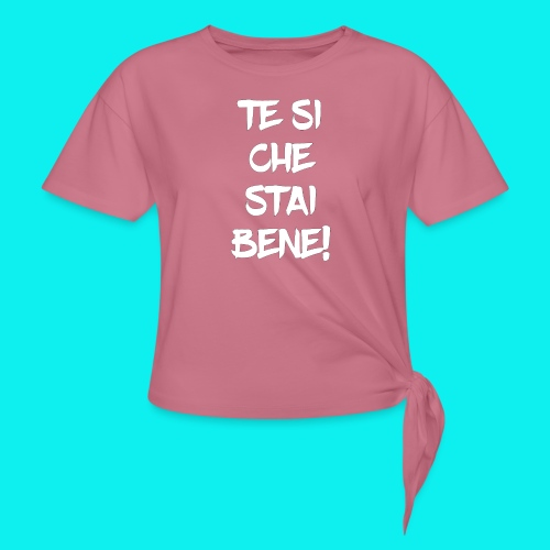 tesiokok - Maglietta annodata da donna