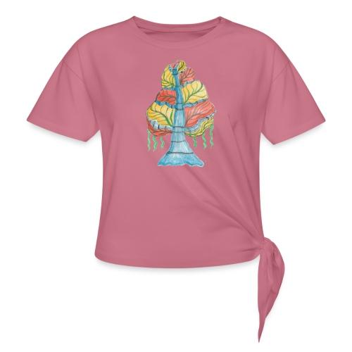 albero_alma_2015 - Maglietta annodata da donna