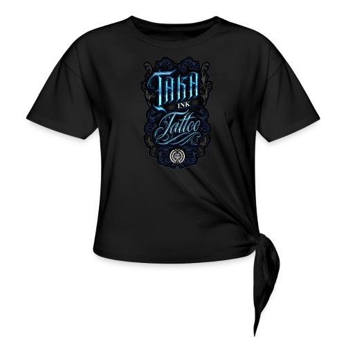 Taka Ink Tattoo - T-shirt à nœud Femme