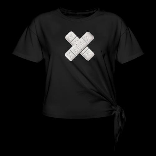 Xanax X Logo - Knotenshirt