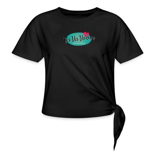 vavavoom logo 330v760 - Dame knot-shirt