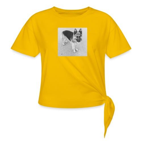 Ready, set, go - Vrouwen Geknoopt shirt