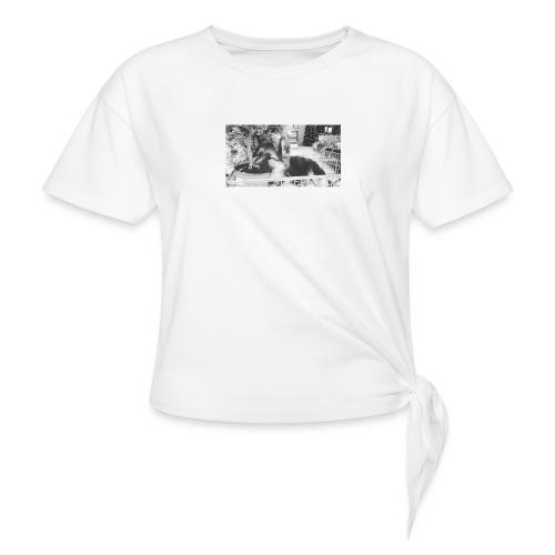 Zzz - Vrouwen Geknoopt shirt