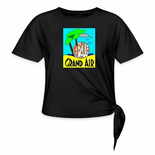 Grand-Air - T-shirt à nœud Femme