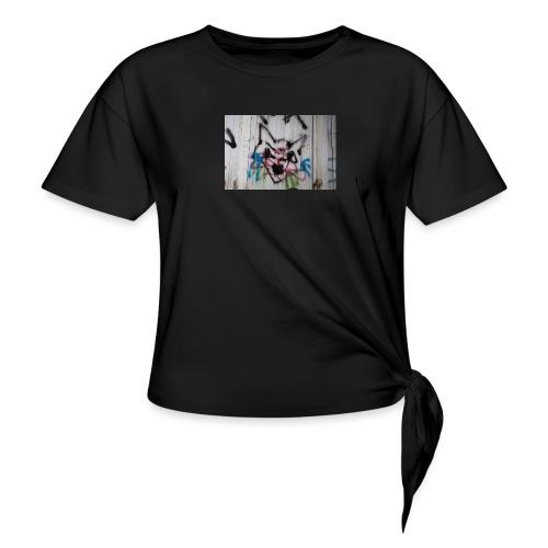 26178051 10215296812237264 806116543 o - T-shirt à nœud Femme