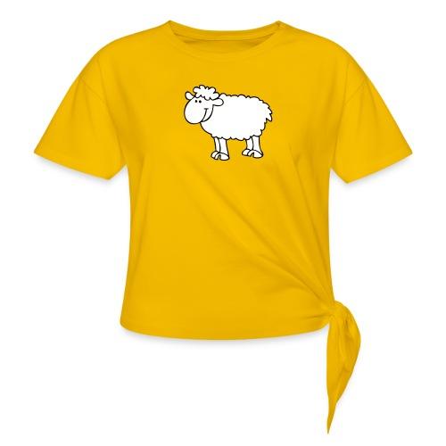 Schaf2 - Knotenshirt