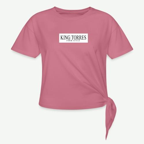king torres - Camiseta con nudo mujer