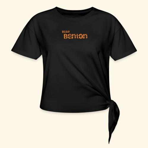 Bejby by benton - T-shirt med knut dam