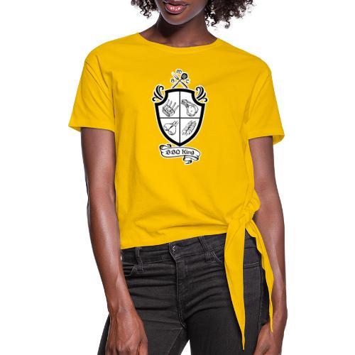 BBQ King - Maglietta annodata da donna