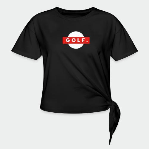 GOLF. - T-shirt à nœud Femme