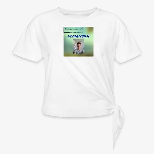 Leman974 logo - T-shirt à nœud