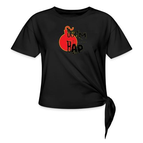 Boom Bap - Women's Knotted T-Shirt