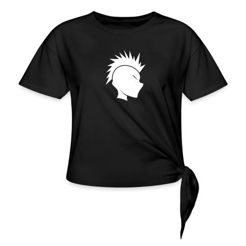 Cally Mohawk Logo - Women's Knotted T-Shirt