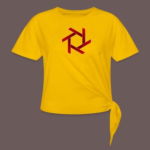 Star - Dame knot-shirt