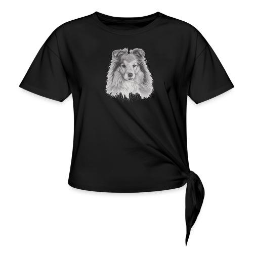 shetland sheepdog sheltie - Knot-shirt