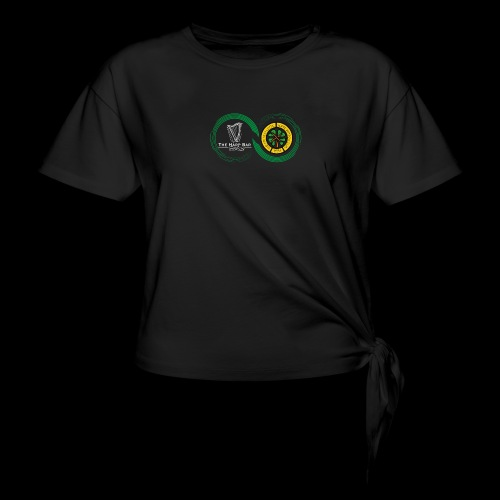 Harp and French CSC logo - T-shirt à nœud