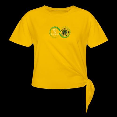 Harp and French CSC logo - T-shirt à nœud