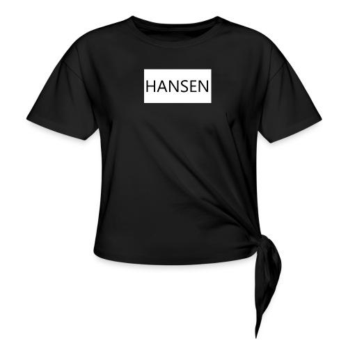 HANSENLOGO hvid - Knot-shirt