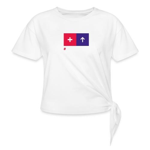 Conversionator mit Plus & Pfeil - Knotenshirt