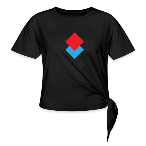 wzortroj - Koszulka damska z wiązaniem