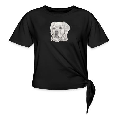 golden retriever - Knot-shirt