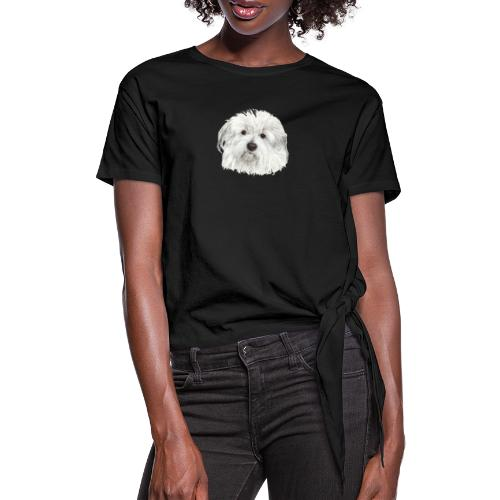 coton-de-tulear - Dame knot-shirt