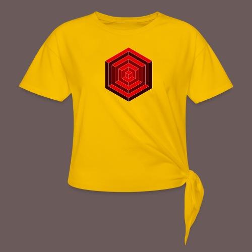 Hexagon Cube - Dame knot-shirt
