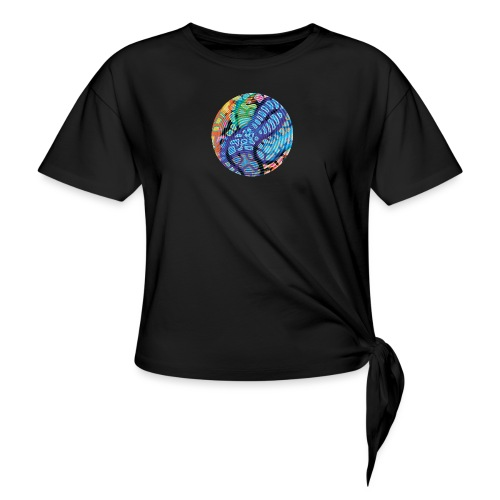 concentric - Knotted T-Shirt