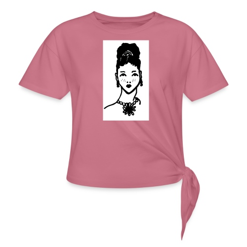 Zahara2 - Camiseta con nudo mujer