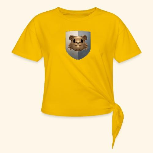 marmottes blason HD - T-shirt à nœud
