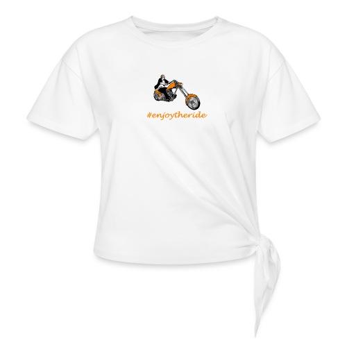 enjoytheride - T-shirt à nœud