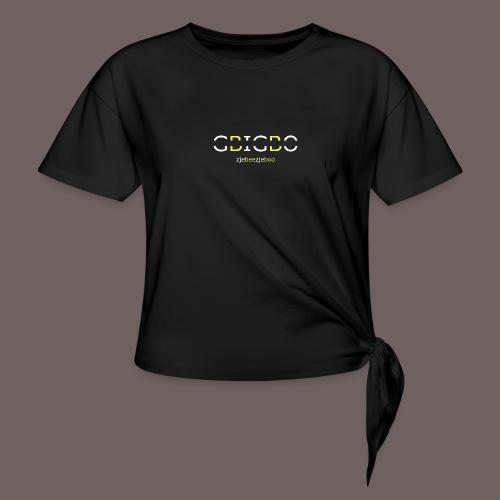 GBIGBO zjebeezjeboo - Retour à l'essentiel - T-shirt à nœud Femme