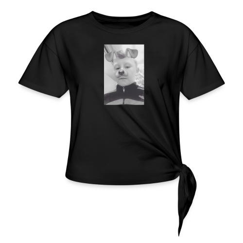 Streetwear - Women's Knotted T-Shirt