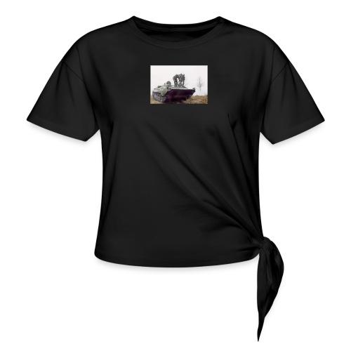 bwp2 - Koszulka damska z wiązaniem